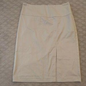 New listing! BR khaki career skirt